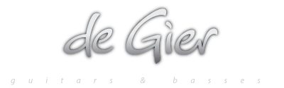 De Gier Guitars & Basses Logo