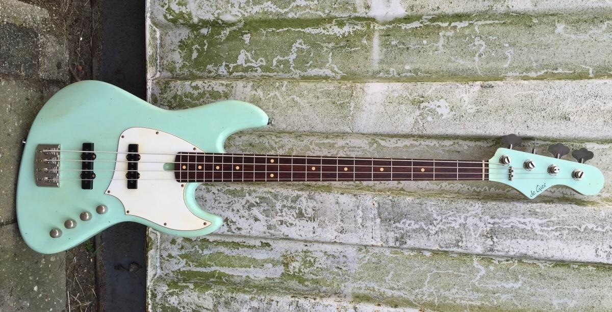 De Gier BeBop 4 Surf Green relic