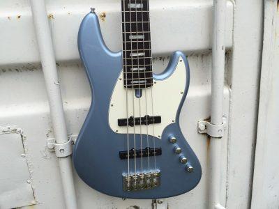 De Gier BeBop 5 Custom Blue Metallic